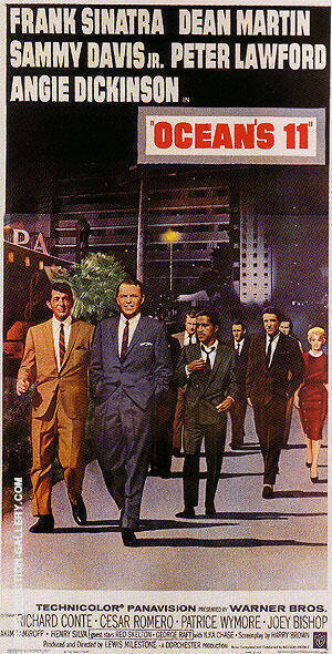 OCEANS 1 1960 Painting By Classic-Movie-Posters - Reproduction Gallery