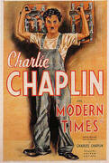 MODERN TIMES CHARLIE CHAPLIN 1936 By Classic-Movie-Posters