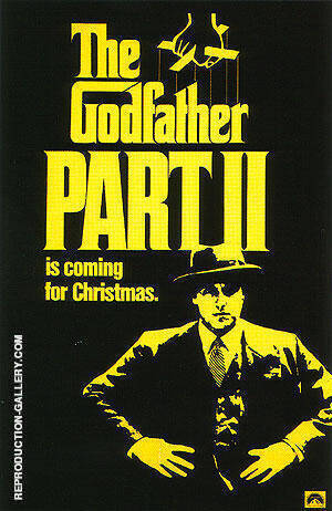 THE GODFATHER PART II 1974 By Classic-Movie-Posters