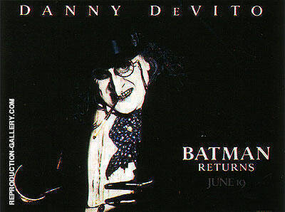BATMAN RETURNS 1992 By Classic-Movie-Posters