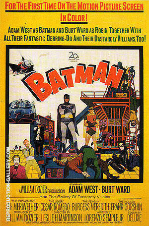 BATMAN 1966 By Classic-Movie-Posters