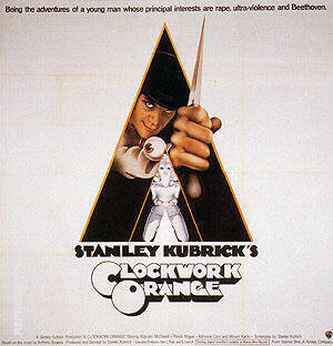 CLOCKWORK ORANGE 1971 By Classic-Movie-Posters