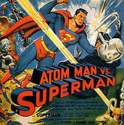 ATOM MAN VS SUPERMAN 1950 By Classic-Movie-Posters