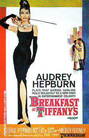 BREAKFAST AT TIFFANYS 1961 By Classic-Movie-Posters