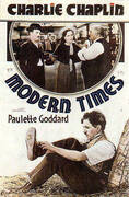 CHARLIE CHAPLIN MODERN TIMES 1936 By Classic-Movie-Posters