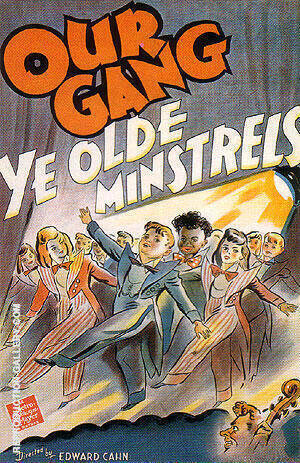 OUR GANG YE OLDE MINSTRELS 1941 By Classic-Movie-Posters Replica Paintings on Canvas - Reproduction Gallery