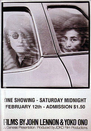 FILMS BY JOHN LENNON & YOKO ONO 1980 By Classic-Movie-Posters