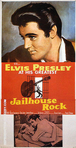 JAILHOUSE ROCK 1957 By Clasic-Movie-Posters