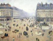 Avenue de l'Opera Misty Weather 1898 By Camille Pissarro
