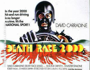 Death Race 2000, 1975 Painting By Sporting-Movie-Posters