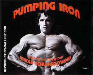 Pumping Iron, 1977 By Sporting-Movie-Posters
