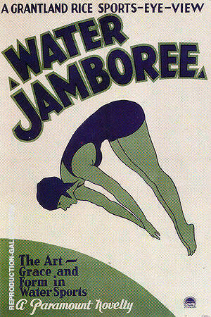 Water Jamboree, 1932 By Sporting-Movie-Posters