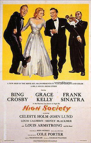 HIGH SOCIETY 1956 By Classic-Movie-Posters