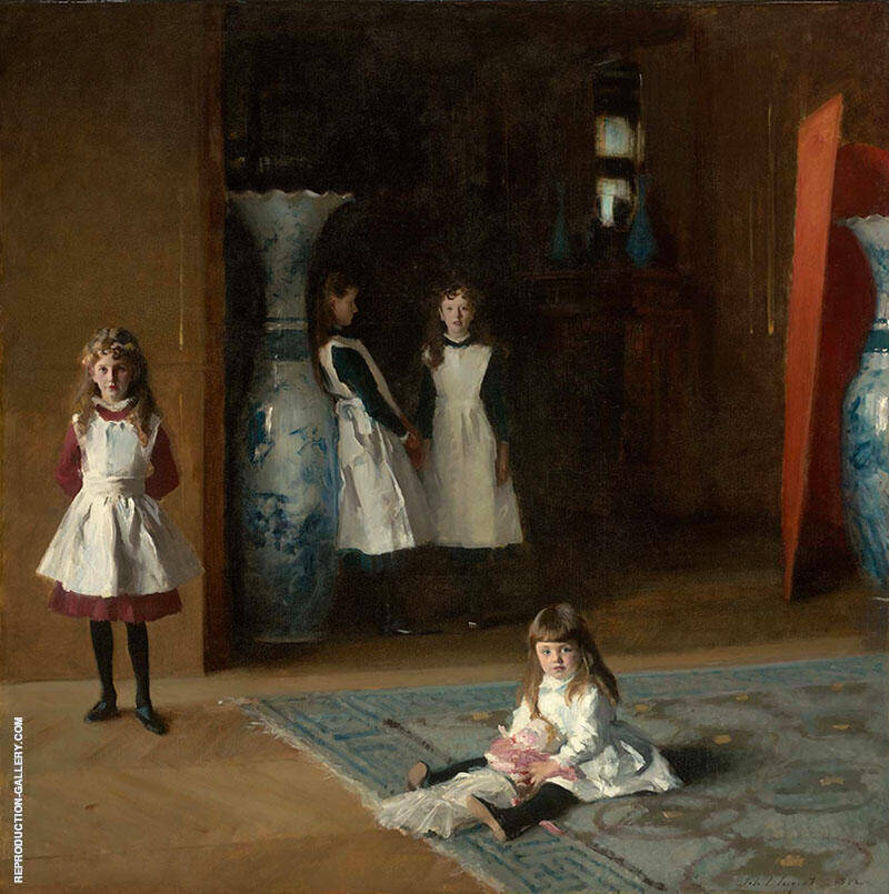 The Daughters of Edward Darley Boit Painting By John Singer Sargent