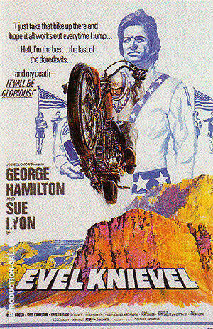 Evel Knievel, 1971 By Sporting-Movie-Posters