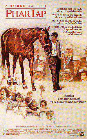Phar Lap, 1983 By Sporting-Movie-Posters Replica Paintings on Canvas - Reproduction Gallery