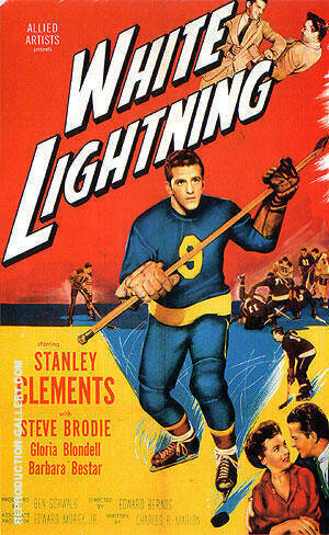White Lightning, 1953 By Sporting-Movie-Posters
