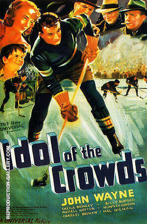 Idol Of The Crowds, 1944 Painting By Sporting-Movie-Posters