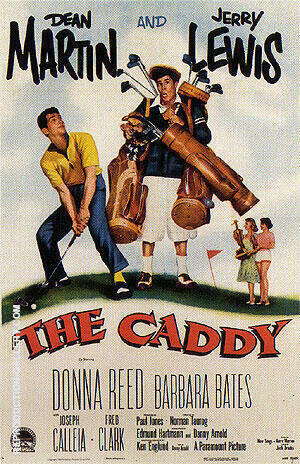 Reproduction of The Caddy, 1953 by Sporting-Movie-Posters | Oil Painting Replica On CanvasReproduction Gallery