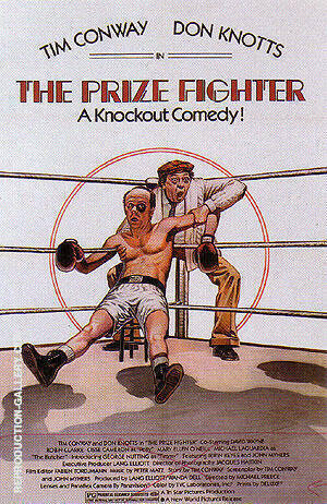 The Prize Fighter, 1979 Painting By Sporting-Movie-Posters
