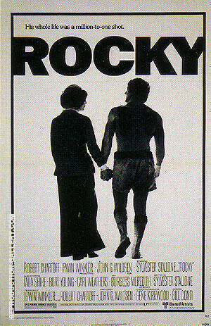 Rocky, 1976 Painting By Sporting-Movie-Posters - Reproduction Gallery