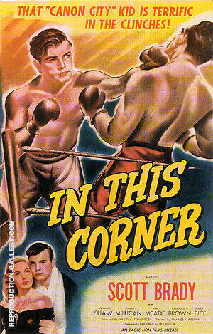 In This Corner, 1948 By Sporting-Movie-Posters