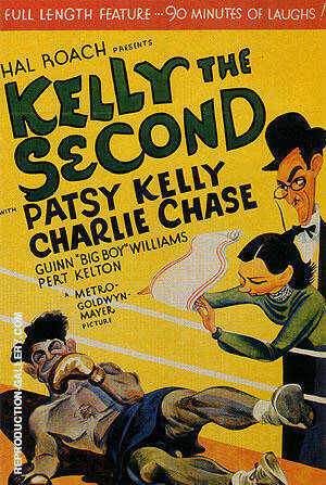 Kelly The Second, 1936 By Sporting-Movie-Posters - Oil Paintings & Art Reproductions - Reproduction Gallery