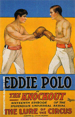 The Knockout, 1935 Painting By Sporting-Movie-Posters