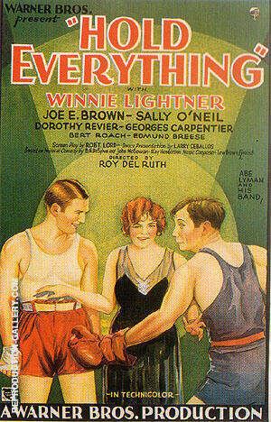 Hold Everthing, 1930 By Sporting-Movie-Posters
