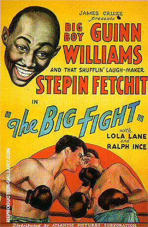 The Big Fight, 1930 By Sporting-Movie-Posters - Oil Paintings & Art Reproductions - Reproduction Gallery