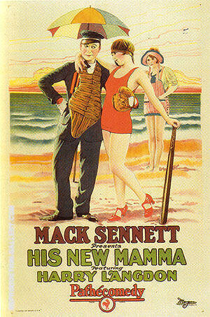 His New Mamma, 1924 By Sporting-Movie-Posters - Oil Paintings & Art Reproductions - Reproduction Gallery