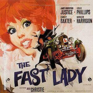 The Fast Lady, 1962 Painting By Sporting-Movie-Posters