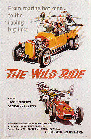 The Wild Ride, 1960 By Sporting-Movie-Posters
