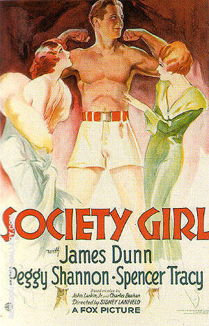 SOCIETY GIRL, 1932 By Sporting-Movie-Posters - Oil Paintings & Art Reproductions - Reproduction Gallery