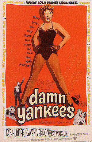 DAMN YANKEES, 1958 By Sporting-Movie-Posters