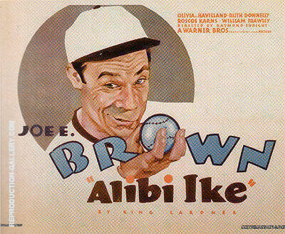 ALIBI IKE, 1935 Painting By Sporting-Movie-Posters - Reproduction Gallery