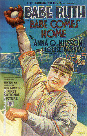 BABE COMES HOME, 1927 By Sporting-Movie-Posters