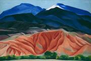 Black Mesa Landscape New Mexico 1930 By Georgia O'Keeffe