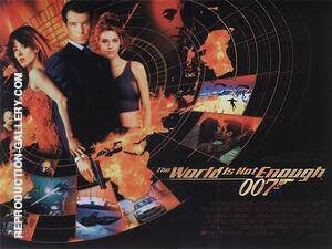 The World Is Not Enough 1999 By James-Bond-007-Posters