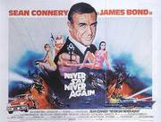 Never Say Never Again 1984 By James-Bond-007-Posters