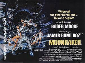 Moonraker 1979 By James-Bond-007-Posters Replica Paintings on Canvas - Reproduction Gallery
