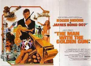 The Man With The Golden Gun, By James-Bond-007-Posters