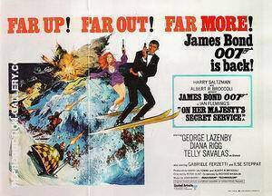 On Her Majesty's Secret Service, By James-Bond-007-Posters - Oil Paintings & Art Reproductions - Reproduction Gallery