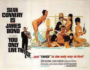 You Only Live Twice, 1967 By James-Bond-007-Posters