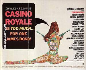 Casino Royale, 1967 By James-Bond-007-Posters Replica Paintings on Canvas - Reproduction Gallery