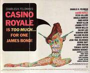 Casino Royale, 1967 By James-Bond-007-Posters