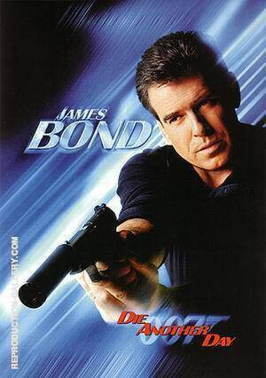 Die Another Day III By James-Bond-007-Posters
