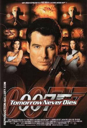 Tomorrow Never Dies By James-Bond-007-Posters