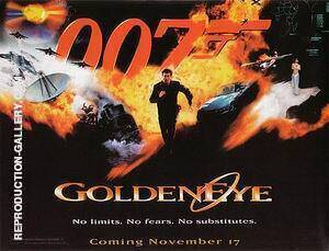 Goldeneye By James-Bond-007-Posters
