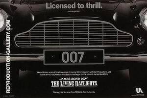 The Living Daylights II By James-Bond-007-Posters